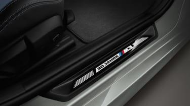 BMW M3 30 Jahre UK edition - door sill