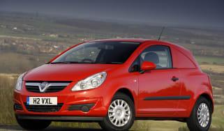 Vauxhall Corsavan front