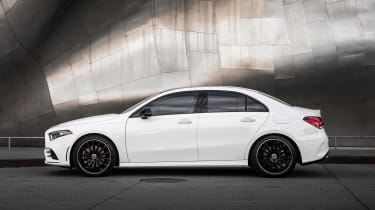Mercedes A-Class Saloon - side static