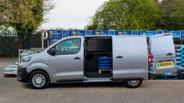 Toyota Proace Electric van - side loading