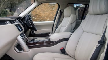 Range Rover Autobiography - front seats