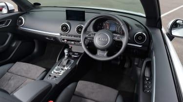 Audi A3 Convertible interior front