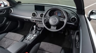 Audi A3 Convertible interior front