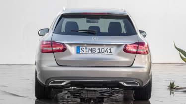 Mercedes C-Class Estate - full rear