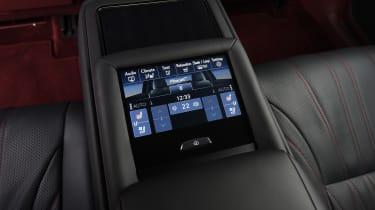 Lexus LS - controls