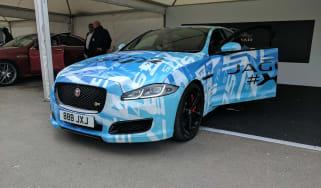 Jaguar XJR 2017 front side