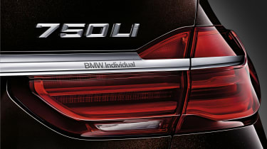 New 2015 BMW 7-Series  rear light