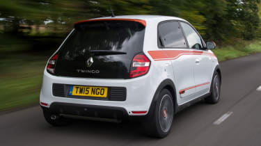 Used Renault Twingo - rear tracking