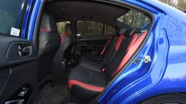 Subaru WRX STi Final Edition - back seats