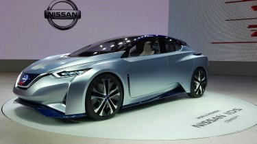Nissan IDS concept at Tokyo Motor Show front