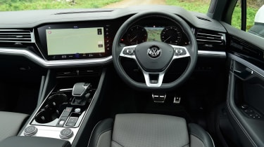 Volkswagen Touareg long termer - first report dash