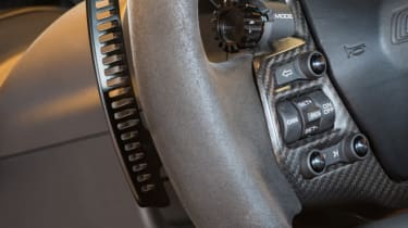 Ford GT Norway road trip - steering controls