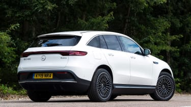 Mercedes EQC - rear static