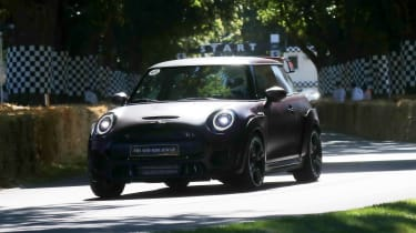 MINI Cooper JCW GP III - Goodwood run 2019