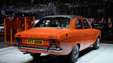 Ford Escort Mk1 rear orange