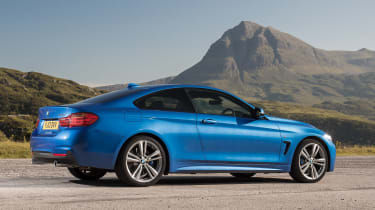 Used BMW 4 Series - rear