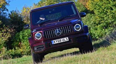 Mercedes-AMG G 63 - front action