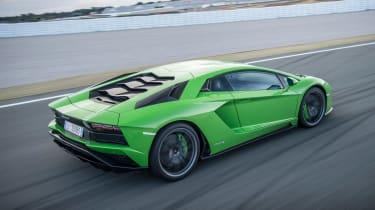 Lamborghini Aventador S - rear tracking