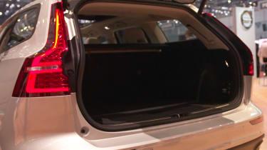 Volvo V60 geneva 2018 boot