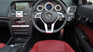 Mercedes E350 CDI Cabriolet interior