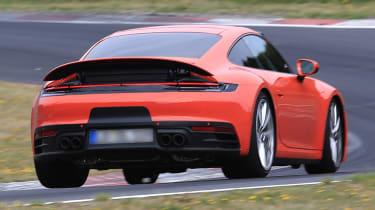 New Porsche 911 rear spoiler