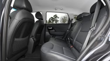 Kia e-Niro rear seats