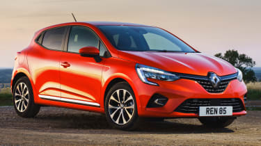 Renault Clio - front static