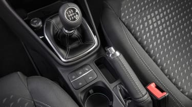 Ford Fiesta diesel review - gear lever