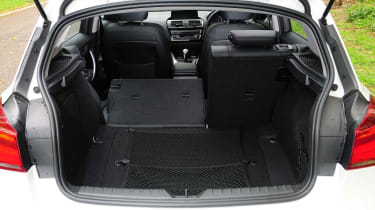 BMW 1 Series - boot