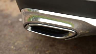 Mercedes GLC long-term third report - exhaust
