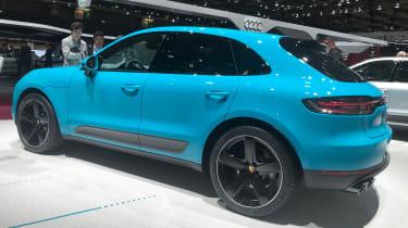 Porsche Macan 2019 rear