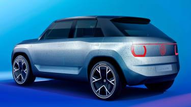 Volkswagen ID Life - side/rear blue