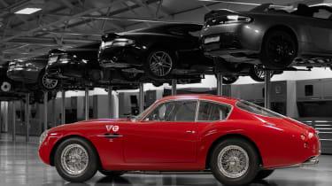 Aston Martin DB4 GT Zagato Continuation - side static