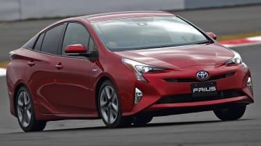 New Toyota Prius 2015 action