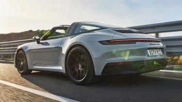 Porsche 911 GTS Targa - rear