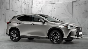 Lexus NX - silver front static
