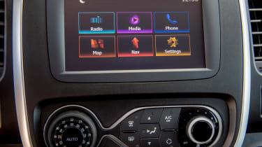 Nissan NV300 van screen