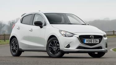 Mazda 2 Sport Black - front static