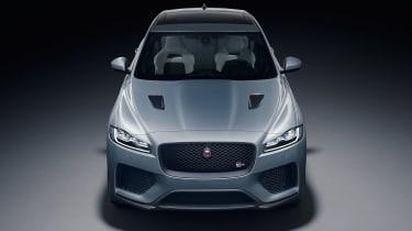 Jaguar F-Pace SVR - front/above