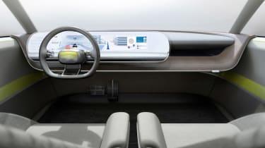 Hyundai 45 Concept - dash