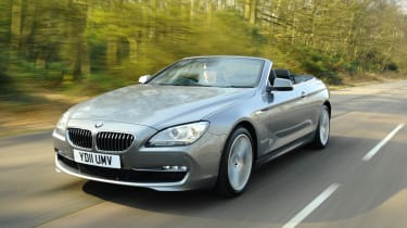 BMW 640i SE Convertible front track