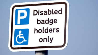 Plans for free blue badges