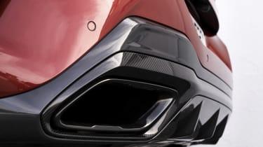 BMW M850i diffuser