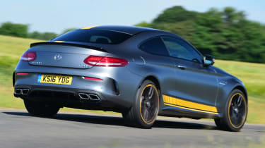 Mercedes-AMG C 63 S Coupe Edition 1 - rear cornering