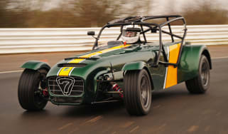 Caterham R600 front tracking