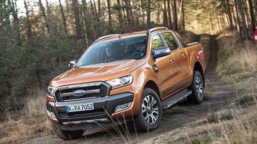 Ford Ranger 2016 front