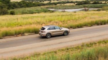 Porsche Cayenne E-Hybrid prototype - rear