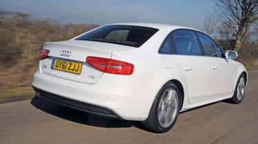 Audi A4 2.0 TDI S line rear track
