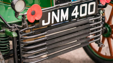 London to Brighton Veteran Car Run  -  Vauxhall grille