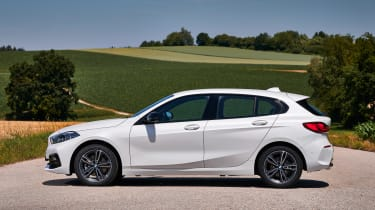 BMW 1 Series 2019 side static